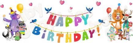 Happy birthday transparent background png happy birthday with animals