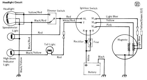 motorcycle without battery basic wire diagram 45 wiring