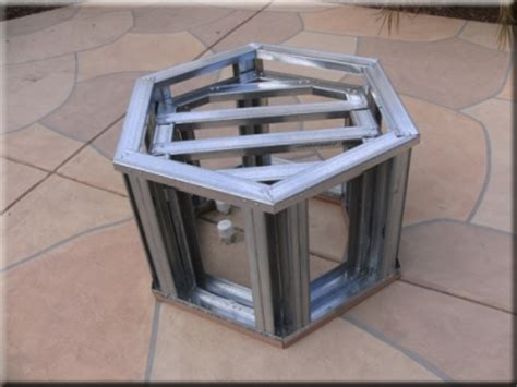 diy brass pit burner portable outdoor pits with broken tempered glass