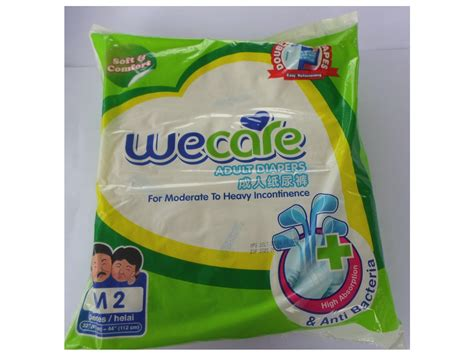 We Care Diapers we care diapers m isi 2pcs tokoalkes