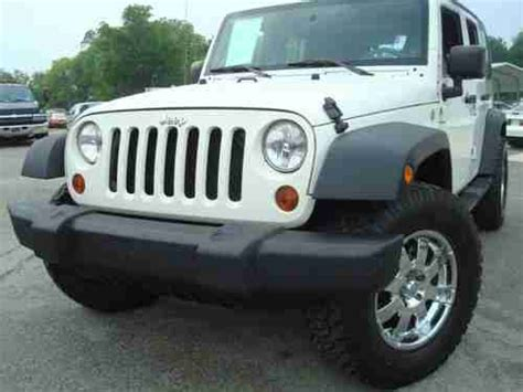 2009 Jeep Wrangler 4 Door by Find Used 2009 Jeep Wrangler Unlimited X 4 Door Clean In Milledgeville United States