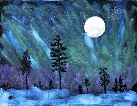 soothing northern lights color board kovi