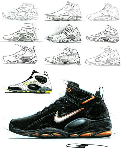 sports shoe design sketch drawing shoes concept design teaching