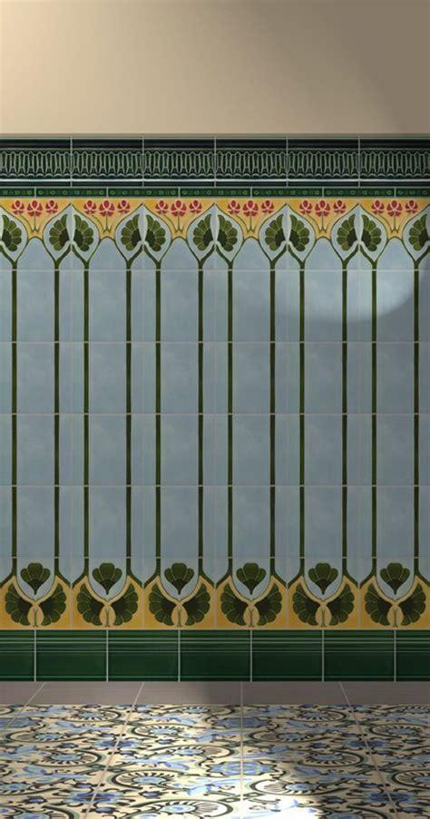 art nouveau bathroom tiles 146 best art nouveau bathroom images on pinterest art