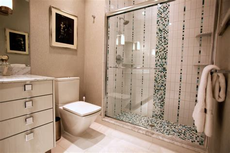mosaic tile ideas for bathroom mosaic tile in bath modern bathroom other metro by