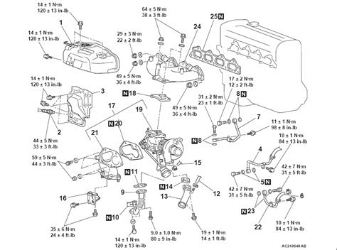 car wiring official torque specs thread exhaust