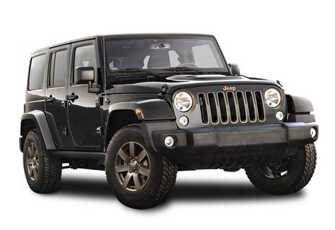 car jeep black black jeep wrangler car png image pngpix