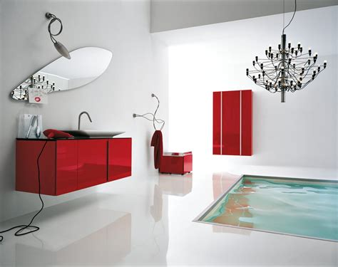 red bathroom 50 modern bathrooms