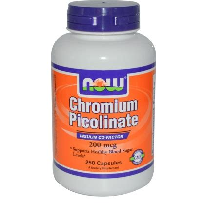 Suplemen Chromium Picolinate Chromium Picolinate Benefits Side Effects Dosage And