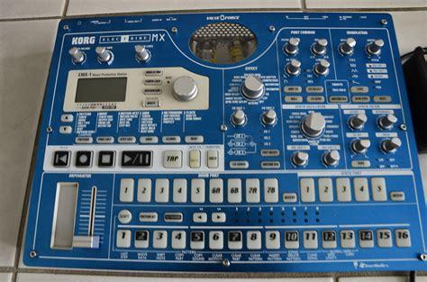 korg emx patternbank korg electribe emx1 image 454333 audiofanzine