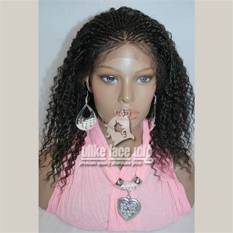 pics of cornrow braided wig brazilian hair hand braided 16 quot full lace wig kinky