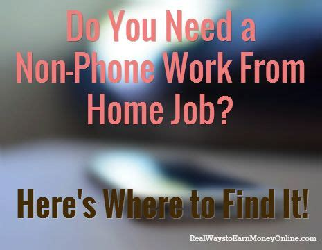 non phone work from home 17 best ideas about advertisement on