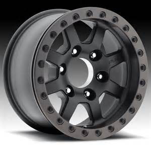 Truck Wheels With Beadlock Fuel Trophy Beadlock D105 Black Custom Truck Wheels Rims