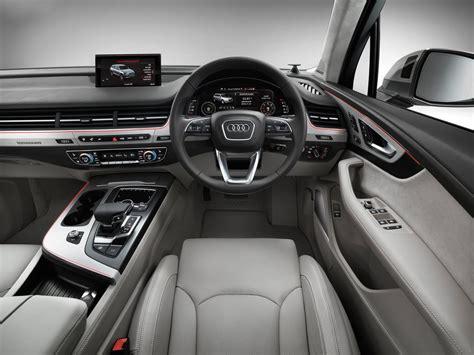 audi jeep interior 2016 audi q7 interior official pics 1 carblogindia