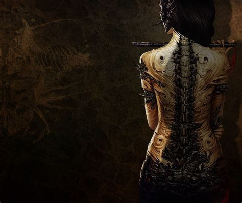 3d tattoo wallpaper free download 3d girl with tattoo 4k wallpaper hd wallpapers