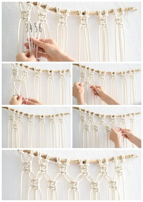macrame easy interior easy diy macrame wall hanging tutorial