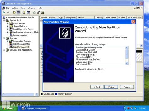 cara format hardisk baru di windows xp cara membuat menghapus dan format partisi hardisk di