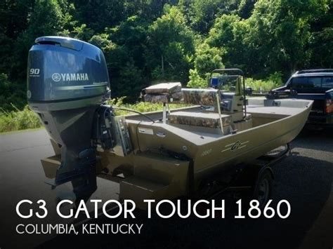 g3 boats for sale in ky sold g3 gator tough 1860 boat in columbia ky 087649