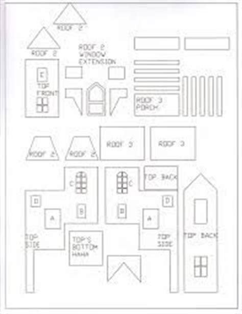 victorian gingerbread house template printable gingerbread house template gingerbread pinterest