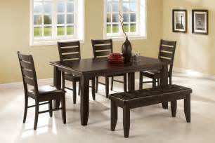 dining room table with bench and chairs dining table bench set dining table