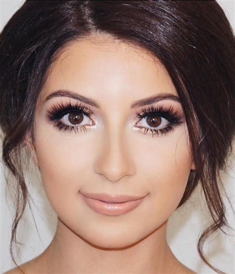 Brown Bridal by Best 25 Brown Ideas On Makeup