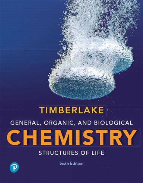 generic structure of biography timberlake general organic and biological chemistry
