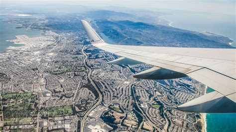 san francisco to los angeles in 100 seconds flight time lapse american airlines boeing