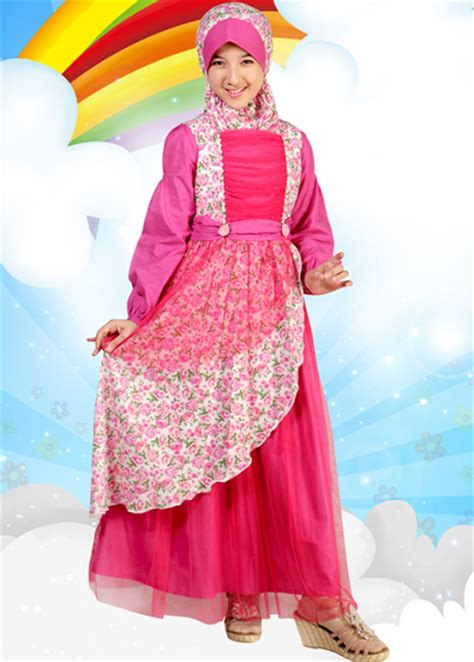 Fashion Anak 8 model jilbab fashion untuk show anak model jilbab