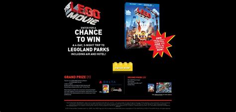 Movie Sweepstakes - thelegomoviesweepstakes com the lego movie sweepstakes
