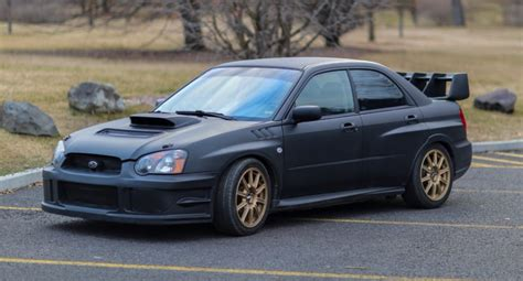 subaru wrx 2005 original owner 2005 subaru impreza wrx sti for sale on bat
