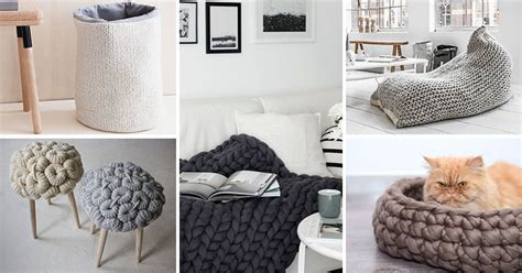 knit home decor 17 of the best ways to add more knitted things to your
