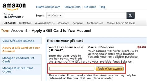 How To Redeem Gift Cards On Amazon - free amazon gift cards cheatcorner