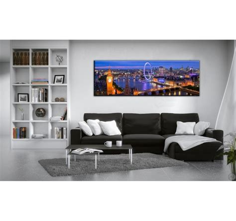 Tableau Paysage de Londres by Night   ArtWall and Co