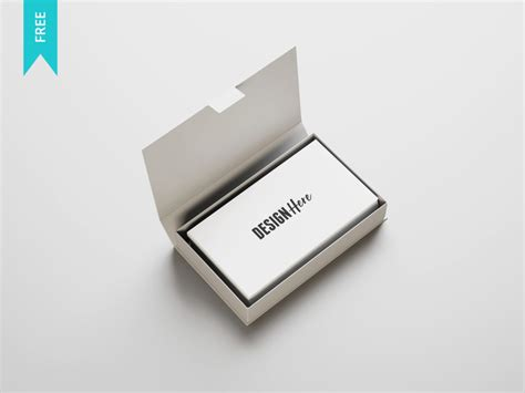Card Box Template Psd by Free Business Card Mockup Template Psd Image Collections
