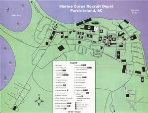 Mcrd San Diego Map by Pics Photos Map Of Parris Island Updated