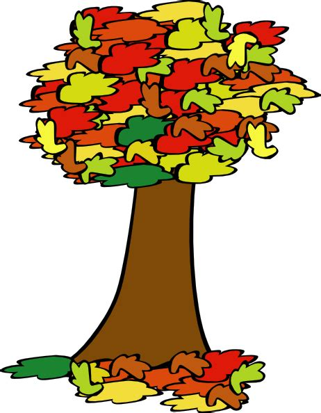 Fall Tree Clipart fall tree clip at clker vector clip royalty free domain