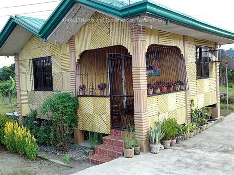 native house design bahay kubo nipa huts pinterest