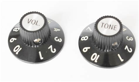 White Witch Hat Knobs by Witch Hat Plastic Knobs Style Volume Tone Set For 1