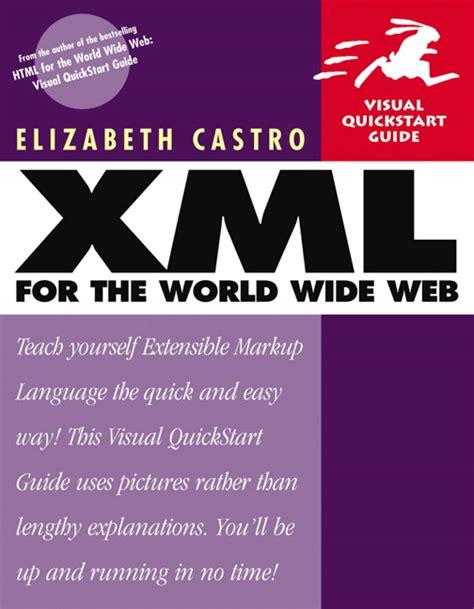 xml quick guide castro xml for the world wide web visual quickstart