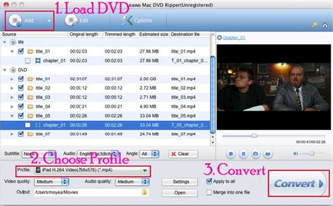 dvd format not recognized rip dvd to ipad 2 on mac with leawo dvd to ipad 2