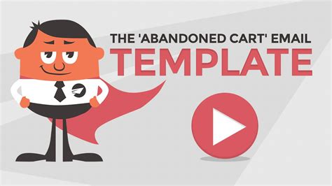 abandoned cart email sequence template youtube