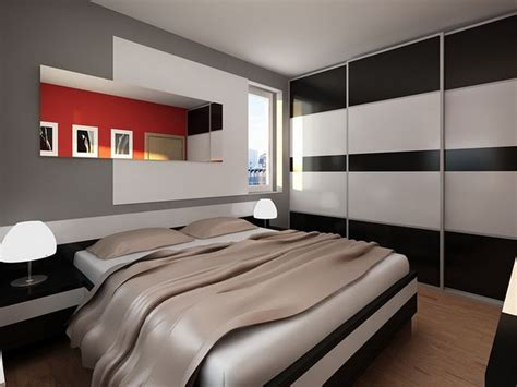 Modern Contemporary Home Small Bedroom Interior Design Interior Design For Small Bedroom