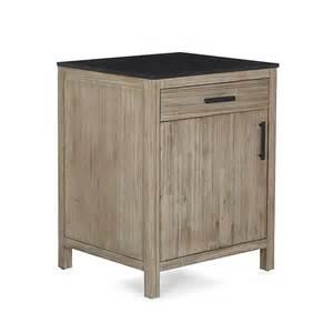 meuble de cuisine bas 60cm avec porte et tiroir lys