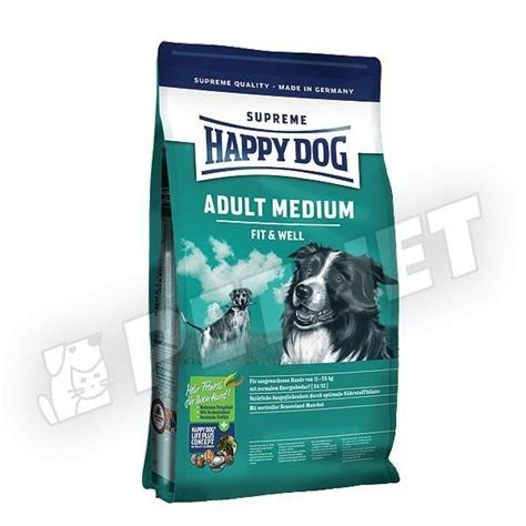 Happy Supreme Fit And Well 4 Kg Medium 1 happy fit well medium 4kg kutyat 225 p k 246 zepes