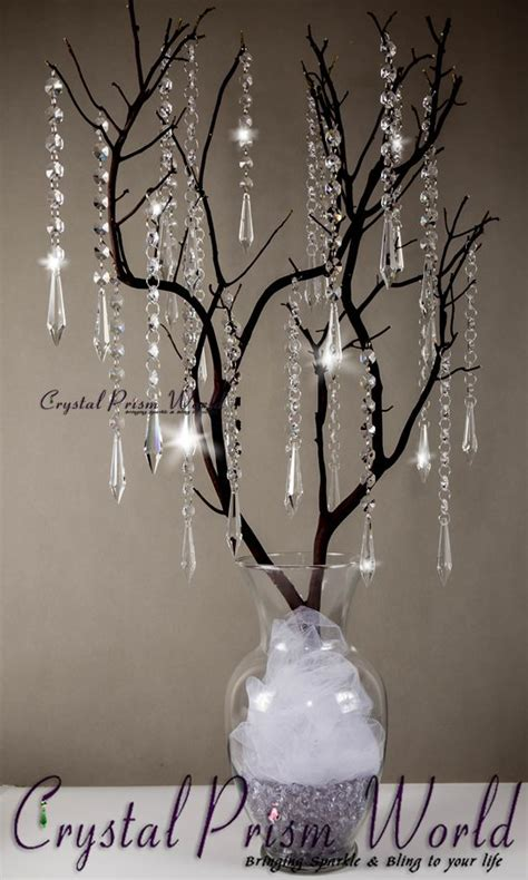 hanging crystals for wedding centerpieces 17 best ideas about centerpieces on