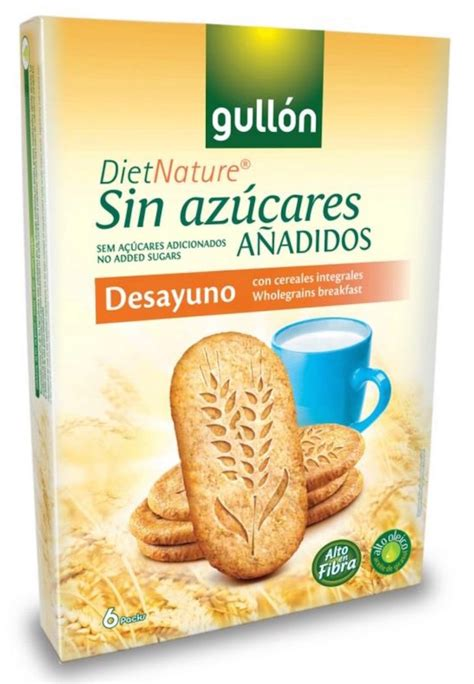 Gullon Cioccolato Wholegrain Oat Chocolate Cereal Biscuit High Fibre gull 243 n no added sugar wholegrain breakfast biscuits 216g
