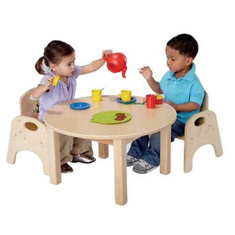 Toddler Kitchen Table Toddler Table Chair Set Becker S School Supplies