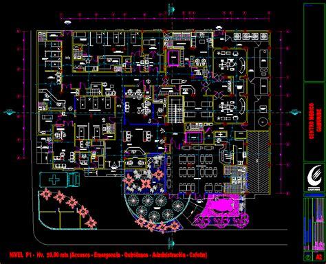 camuribe medical center dwg block  autocad designs cad