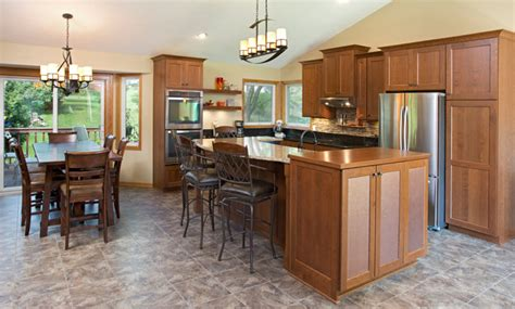 split level open floor plan kitchen kitchen remodeling traditional style with modern spin