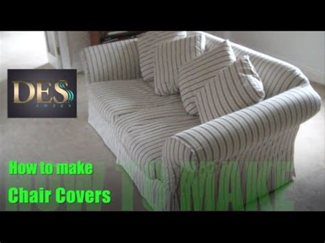 How To Make Cover by How To Make Chair Cover Of Arm Caps